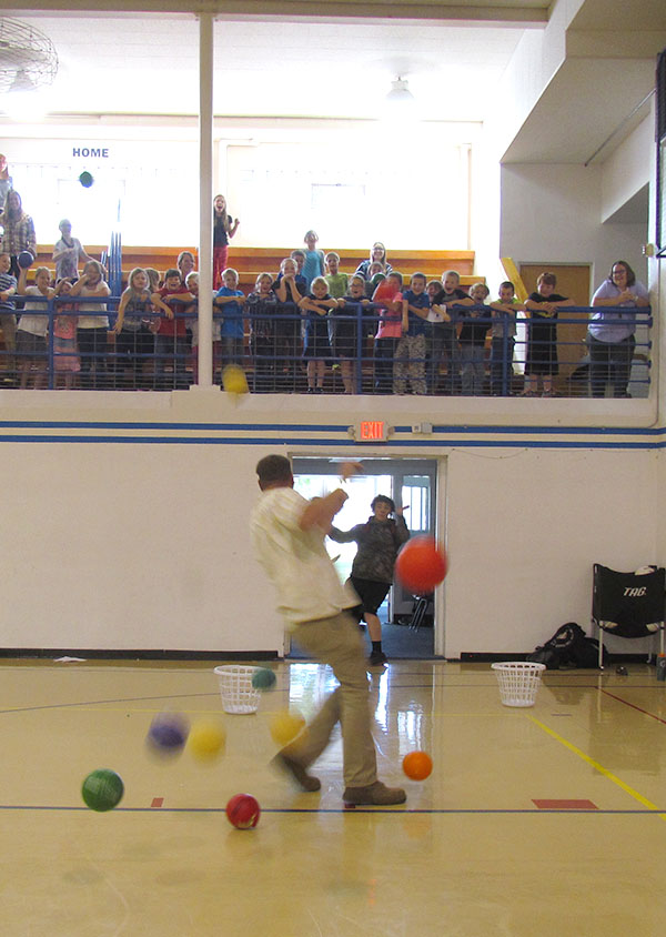 Mr Olson Dodgeball